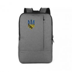 Рюкзак для ноутбука Герб на фоні прапора - FatLine