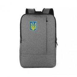 Рюкзак для ноутбука Герб України 3D