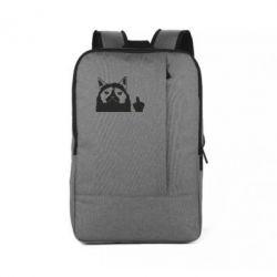 Рюкзак для ноутбука Grumpy cat F**k Off