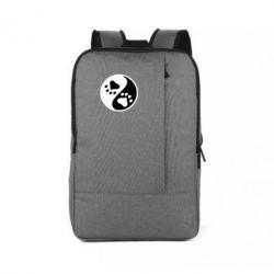 Рюкзак для ноутбука інь янь лапки - FatLine