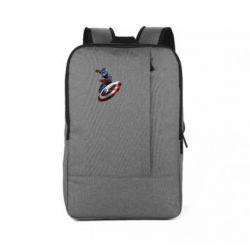 Рюкзак для ноутбука Капитан Америка - FatLine
