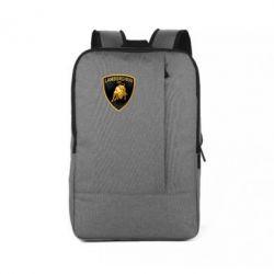Рюкзак для ноутбука Lamborghini Logo - FatLine