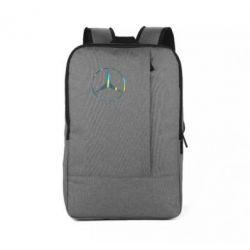 Рюкзак для ноутбука Mercedes Лого Голограма