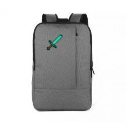 Рюкзак для ноутбука Minecraft меч - FatLine
