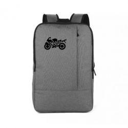 Рюкзак для ноутбука MOTO SPORT - FatLine