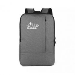 Рюкзак для ноутбука Надпись Баскетбол - FatLine