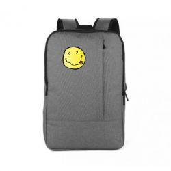 Рюкзак для ноутбука Nirvana Logo 3D - FatLine