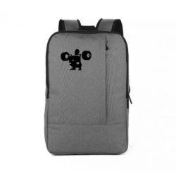 Рюкзак для ноутбука Приседания со штангой - FatLine