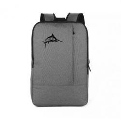 Рюкзак для ноутбука Рыба Марлин - FatLine