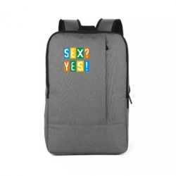 Рюкзак для ноутбука Sex?Yes! - FatLine