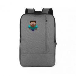 Рюкзак для ноутбука Steve from Minecraft - FatLine