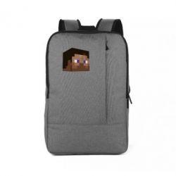 Рюкзак для ноутбука Steve Minecraft - FatLine