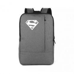 Рюкзак для ноутбука Superman одноцветный - FatLine