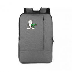 Рюкзак для ноутбука Вежливый кот - FatLine