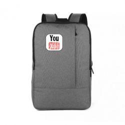 Рюкзак для ноутбука YouTube