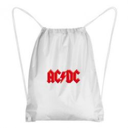 Рюкзак-мешок AC/DC Red Logo - FatLine