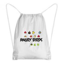 Рюкзак-мешок All Angry Birds - FatLine