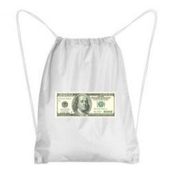 Рюкзак-мешок Американский Доллар - FatLine