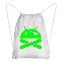 Рюкзак-мешок Android Pirate