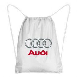 Рюкзак-мешок Audi 3D Logo - FatLine