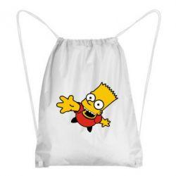 Рюкзак-мешок Барт Симпсон - FatLine
