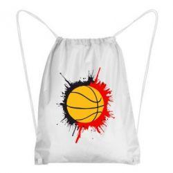 Рюкзак-мешок Баскетбольный мяч - FatLine