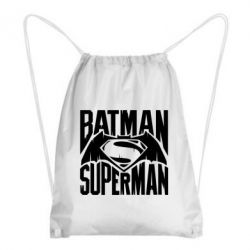 Рюкзак-мешок Бэтмен vs. Супермен - FatLine