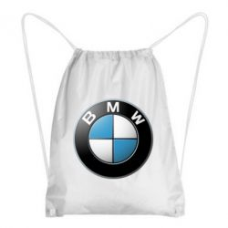 Рюкзак-мешок BMW Logo 3D - FatLine