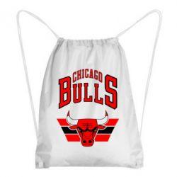 Рюкзак-мешок Большой логотип Chicago Bulls - FatLine