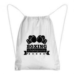Рюкзак-мешок Boxing Champions - FatLine