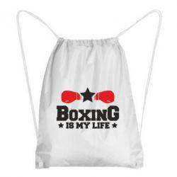 Рюкзак-мішок Boxing is my life