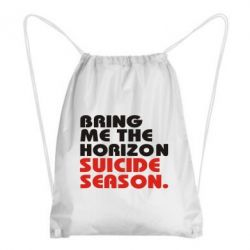 Рюкзак-мешок Bring me the horizon suicide season.