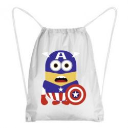 Рюкзак-мешок Captain America Minion - FatLine