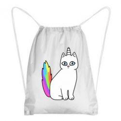Рюкзак-мешок Cat Unicorn