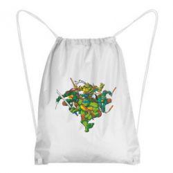 Рюкзак-мешок Черепашки-ниндзя - FatLine