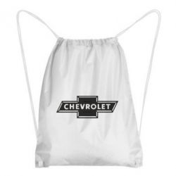 Рюкзак-мешок Chevrolet Logo Small - FatLine