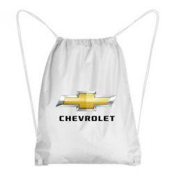 Рюкзак-мешок Chevrolet Logo - FatLine