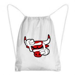 Рюкзак-мешок Chicago Bulls бык - FatLine
