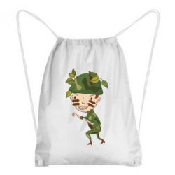 Рюкзак-мешок Cміливий солдат - FatLine