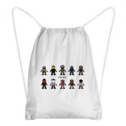 Рюкзак-мешок CS GO Heroes