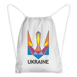 Рюкзак-мешок Цветной герб - FatLine