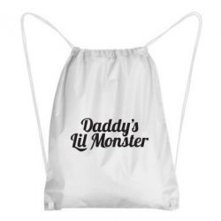 Рюкзак-мешок Daddy's Lil Monster - FatLine