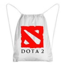 Рюкзак-мешок Dota 2 Big Logo - FatLine