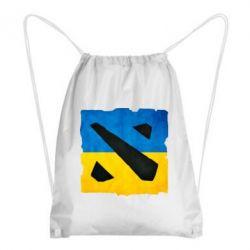 Рюкзак-мешок Dota 2 Ukraine Team - FatLine