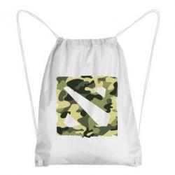 Рюкзак-мешок Dota камуфляж - FatLine
