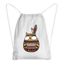 Рюкзак-мешок Ethnic owl 2