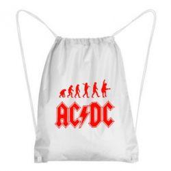 Рюкзак-мешок Эволюция AC\DC - FatLine
