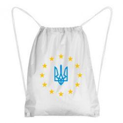 Рюкзак-мешок ЕвроУкраїна - FatLine