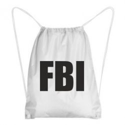 Рюкзак-мешок FBI (ФБР) - FatLine