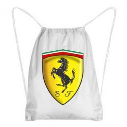Рюкзак-мешок Ferrari 3D Logo - FatLine